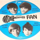 MONKEES OFFICAL FAN CLUB BUTTON
