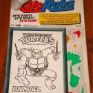 Teenage Mutant Ninja Turtles ColoRubs RAFHAEL Sealed