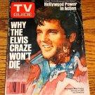 ELVIS  ON TV GUIDE Why The Elvis Craze Won't Die