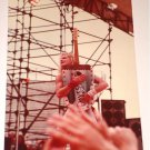 VAN HALEN DAVID LEE ROTH ORIGINAL SET OF 2 CONCERT PHOTOS