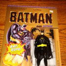 BATMAN  POSEABLE FIGURE WITH BAT ROPE SEALED ON CARD