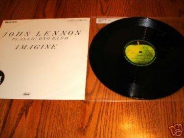 "JOHN LENNON PLASTIC ONO BAND 12"" MAXI SINGLE"