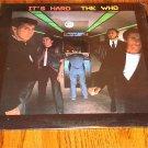 THE WHO IT'S HARD ORIGINAL LP    Still in Shrink
