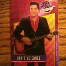 ELVIS PRESLEY BONUS FOIL CARD Don't Be Cruel No. 6