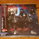 MOTLEY CRUE GIRLS GIRLS GIRLS  ORIGINAL JAPAN CD WITH OBI STILL SEALED