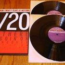 TWENTY NO. 1 HITS FROM TWENTY YEARS AT MOTOWN   2 LP'S
