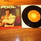 ELVIS PRESLEY Fool / Steamroller Blues 45rpm w/ pic slv