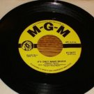 CONWAY TWITTY It's Only Make Believe / I'll  Try 45 rpm