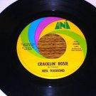 NEIL DIAMOND Cracklin' Rosie / Lordy ORIGINAL 45 rpm
