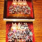 DEF LEPPARD AUTOGRAPHED BOOKLET WITH SEALED CD