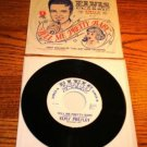 ELVIS PRESLEY Tell Me Pretty Baby Picture Sleeve & 45