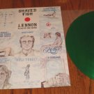 JOHN LENNON SHAVED FISH COLORED GREEN VINYL LP JAPAN