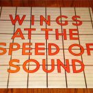 PAUL McCARTNEY WINGS AT THE SPEED OF SOUND LP  1976