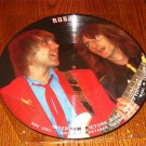 RUSH INTERVIEW 12-INCH PICTURE DISC LIMITED EDITION  FREE USA SHIPPING!