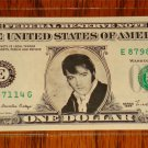 ELVIS PRESLE ONE DOLLAR BILL