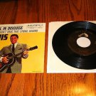 ELVIS Devil In Disguise Picture  Sleeve & 45 rpm