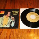 ELVIS Bringing It Back Picture Sleeve & 45 rpm