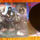 MOTLEY CRUE GIRLS GIRLS GIRLS  ORIGINAL LP