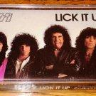 KISS LICK IT UP CASSETTE