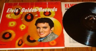 ELVIS GOLDEN RECORDS LP  1964