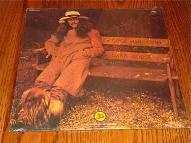 GEORGE HARRISON DARK HORSE PROMO LP SEALED