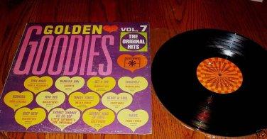 GOLDEN GOODIES VOLUME 7 Original LP
