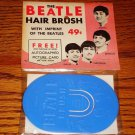 BEATLES ORIGINAL HAIR BRUSH STILL SEALED W/ HEADER CARD