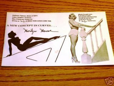 MARILYN MONROE Drawing Aid Concept in Curves