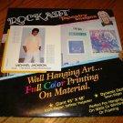 "MICHAEL JACKSON ORITGINAL TAPESTRY ROCK ART 45"" x 48"""