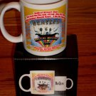 THE BEATLES MAGICAL MYSTERY TOUR COFFEE MUG New In Box!