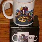THE BEATLES YELLOW SUBMARINE COFFEE MUG New In Box!