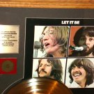 THE BEATLES LET IT BE GOLD RECORD AWARD FRAMED WITH 45 APPLE LABEL