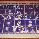 DEEP PURPLE IN CONCERT ORIGINAL 2-LP STILL SEALED!   FIRST PRESSING 1981