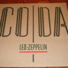 LED ZEPPELIN CODA ORIGINAL LP STILL FACTORY SEALED!  1982