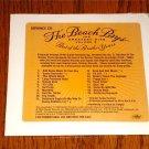 BEACH BOYS GREATEST HITS VOLUME 3 ADVANCE CD  Sealed !