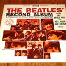 THE BEATLES THE SECOND ALBUM ORANGE LABEL CAPITOL