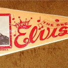ELVIS PRESLEY PENNANT The One and Only ELVIS