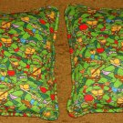 Teenage Mutant Ninja Turtles Set of Two Flannel Travel Pillows