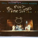 NEIL YOUNG & CRAZY HORSE RUST NEVER SLEEPS ORIGINAL LP IN SHRINK WITH STICKER