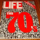 LIFE THE 70'S SPECIAL ISSUE THE DECADE IN PICTURES MAGAZINE