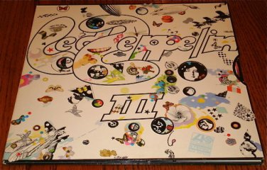 LED ZEPPELIN III LP WITH GATEFOLD COVER & ORIGINAL SLEEVE