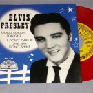 ELVIS PRESLEY GOOD ROCKIN' TONIGHT SUN 45 ON RED COLORED VINYL
