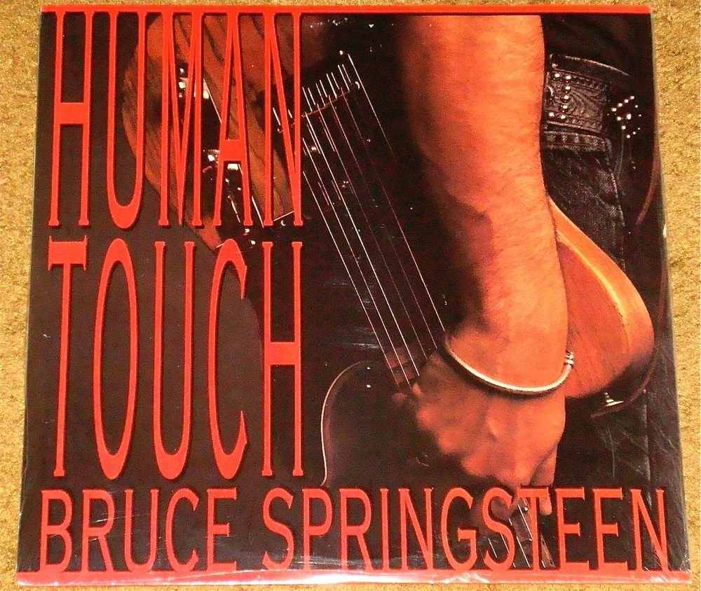 BRUCE SPRINGSTEEN HUMAN TOUCH ORIGINAL LP STILL FACTORY SEALED!  1992