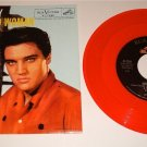 ELVIS HARD HEADED WOMAN / DON'T ASK ME WHY PICTURE SLEEVE & RED COLORED VINYL 45