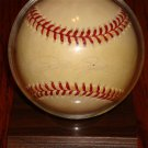 PETE ROSE AUTOGRAPHED OFFICIAL BASEBALL WITH STAND
