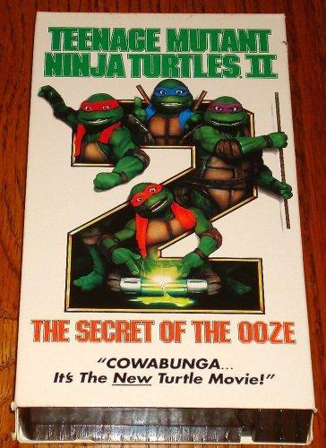 TEENAGE MUTAT NINJA TURTLES VHS THE SECRET OF THE OOZE