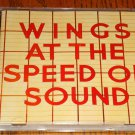 PAUL McCARTNEY WINGS AT THE SPEED OF SOUND IMPORT CD