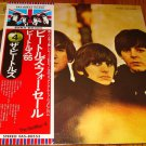 THE BEATLES FOR SALE  JAPAN LP WITH OBI