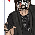King Diamond  Amaral Cartoons Poster