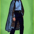 Lando Star Wars Amaral Cartoons Poster
